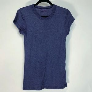 3/30 SALE Michael Stars Shine Purple Stretch Tee